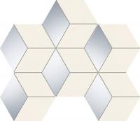 TUBADZIN SENZA WHITE HEX мозаика