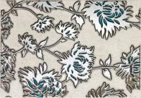 TUBADZIN GRIS FLOWER TURKUS декор