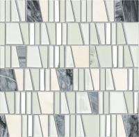 TUBADZIN DROPS STONE WHITE мозаика