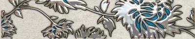 TUBADZIN GRIS FLOWER TURKUS бордюр