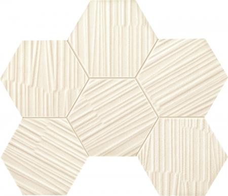 TUBADZIN MAREDA WHITE мозаика