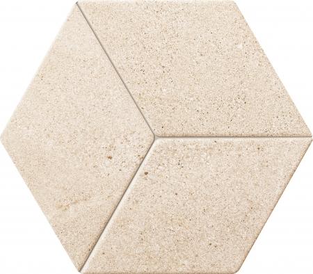 TUBADZIN VESTIGE BEIGE STRUKTURA мозаика