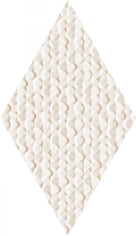 TUBADZIN CORALLE DIAMOND IVORY плитка