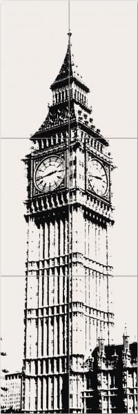 TUBADZIN LONDON PICCADILLY BIG BEN 1 декор