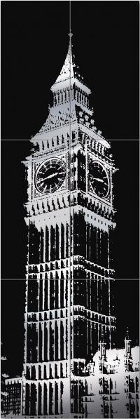 TUBADZIN LONDON PICCADILLY BIG BEN 2 декор