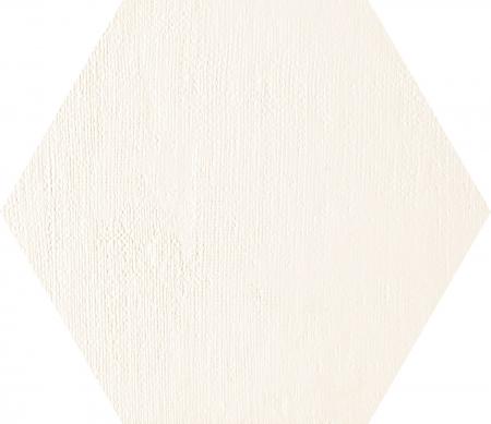 TUBADZIN MILD GARDEN WHITE HEX декор