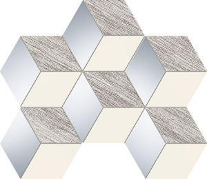 TUBADZIN SENZA GREY HEX мозаика