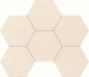 TUBADZIN CRUDE GREY HEX мозаика