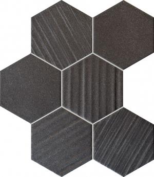 TUBADZIN HORIZON BLACK HEX мозаика
