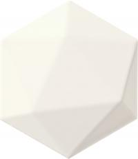 TUBADZIN ORIGAMI WHITE HEX плитка