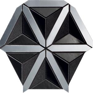 TUBADZIN LUCID BLACK мозаика