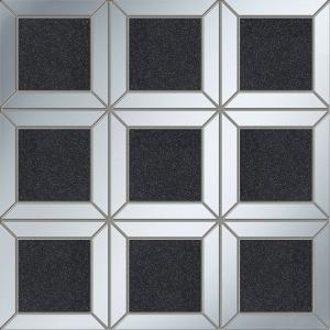 TUBADZIN LUCID SQUARE BLACK мозаика