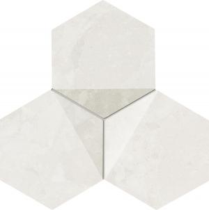 TUBADZIN SCORIA WHITE мозаика
