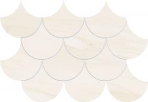 TUBADZIN SHEEN WHITE мозаика